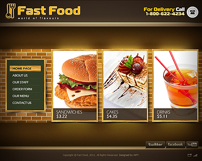 Get Fast Food Website Template For Free 05 13 05 19 16 Tonytemp