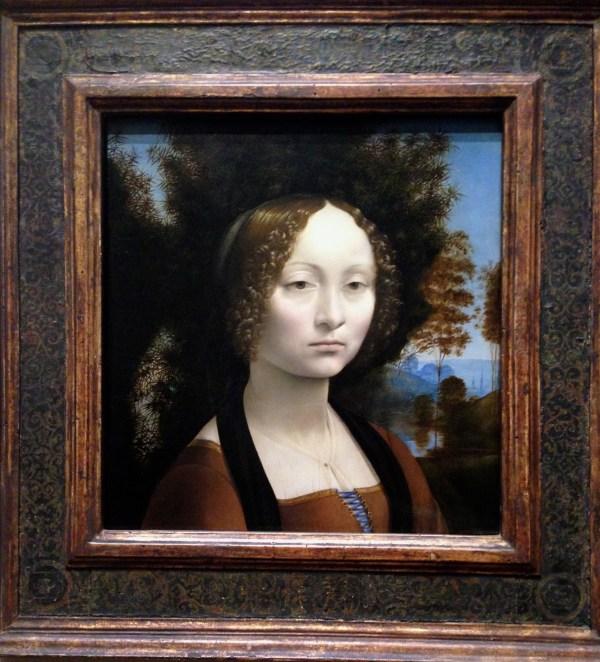 National Of Art Featuring Da Vinci