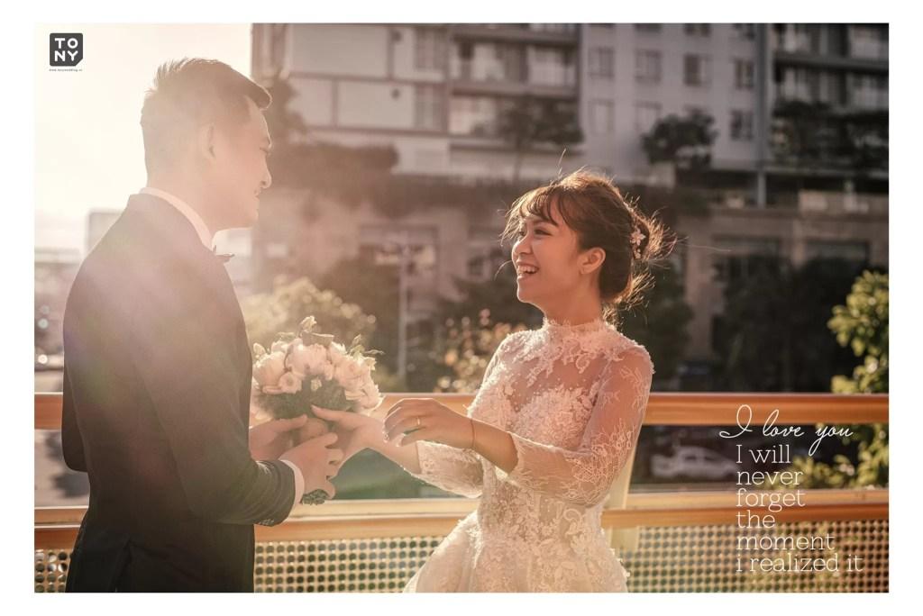 ảnh cưới được chụp bởi Tony Wedding