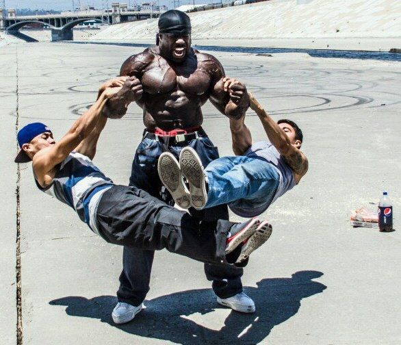 Monster: The Kali Muscle Story, Top Ramen and Tuna (WOW!)