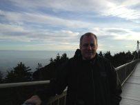 Tony Zeoli at Grandfather Mountain Swinging Bridge