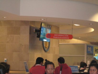 Picture of Information Desk at the Airport in Quito