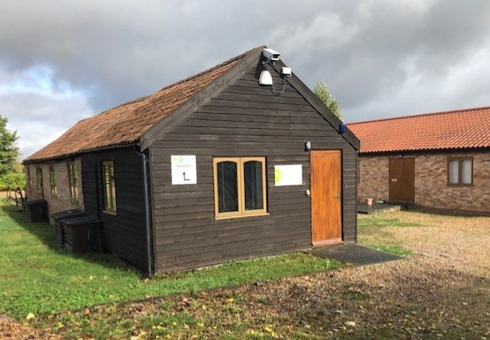 The Orchard Organisation office at Red House farm