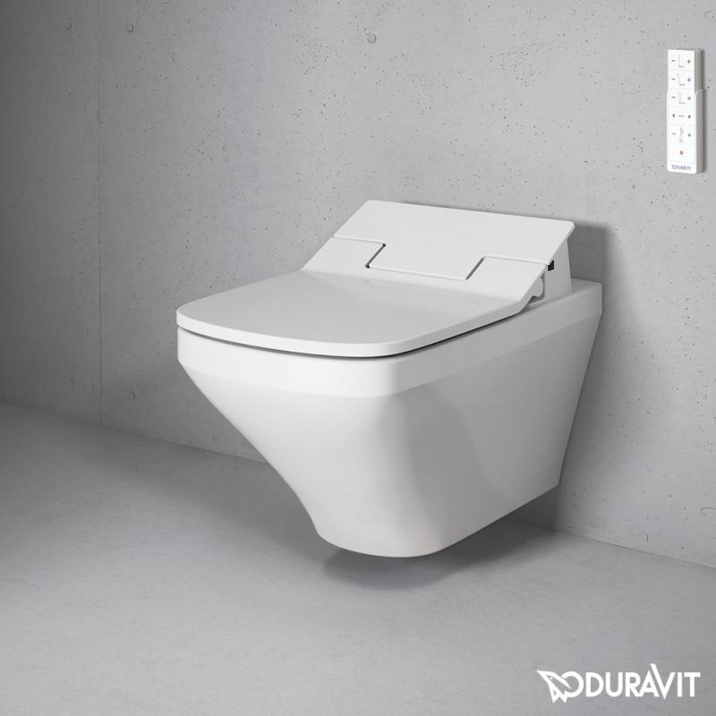 Duravit DuraStyle wallmounted Rimless WC with SensoWash