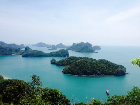 Anthong Marine Park Thailand Solo Trip