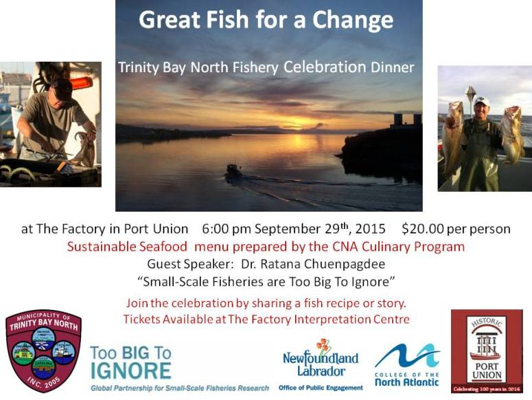 Port Union_Fishery Celebration Dinner