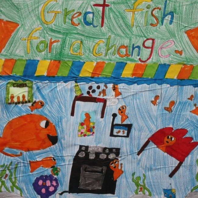 Great Fish drawing