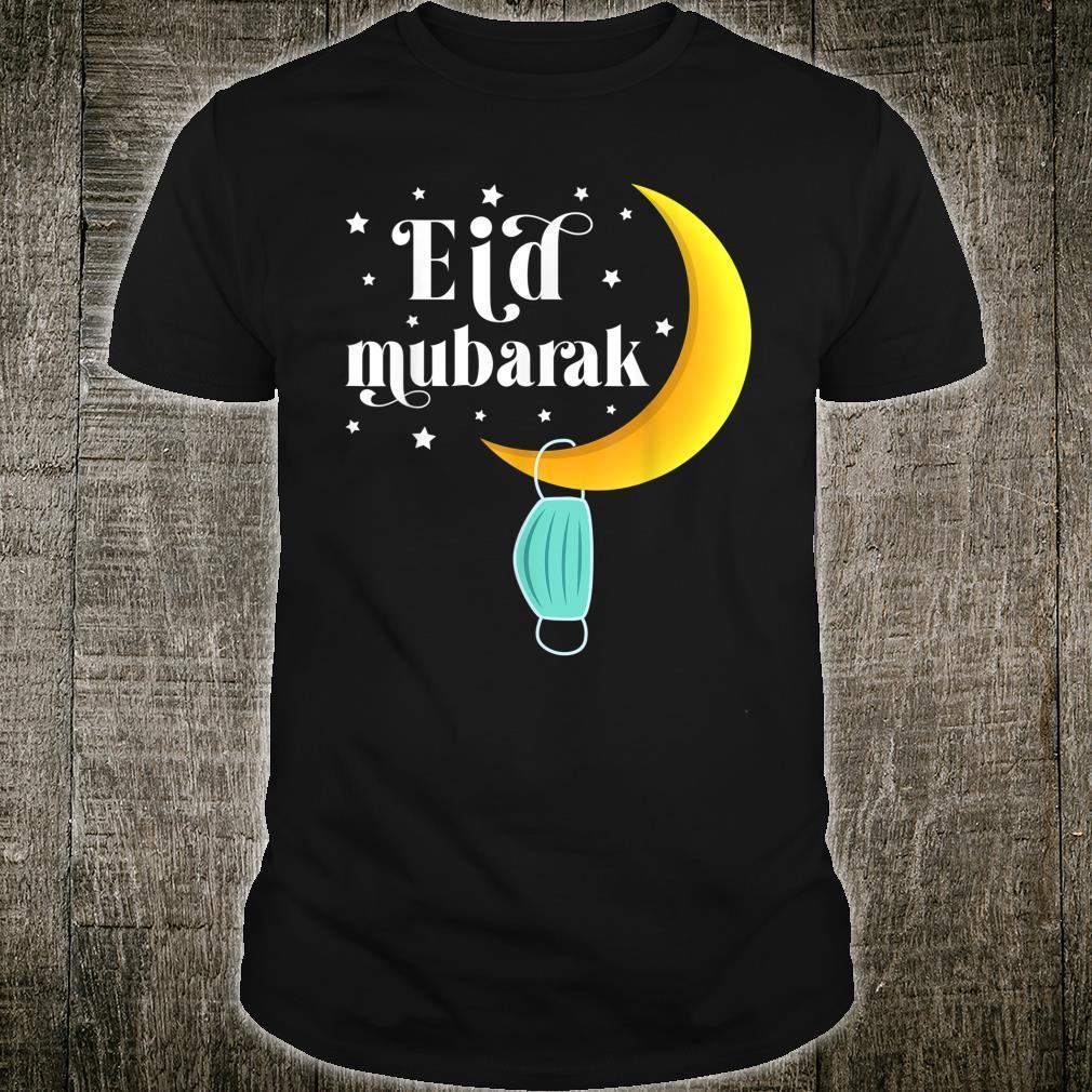 Eid 2021 Mask Muslim Clothing Eid Mubarak Shirt