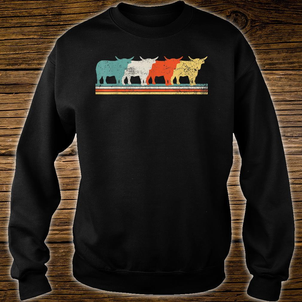 Highland Cow Scottish Vintage Shirt sweater
