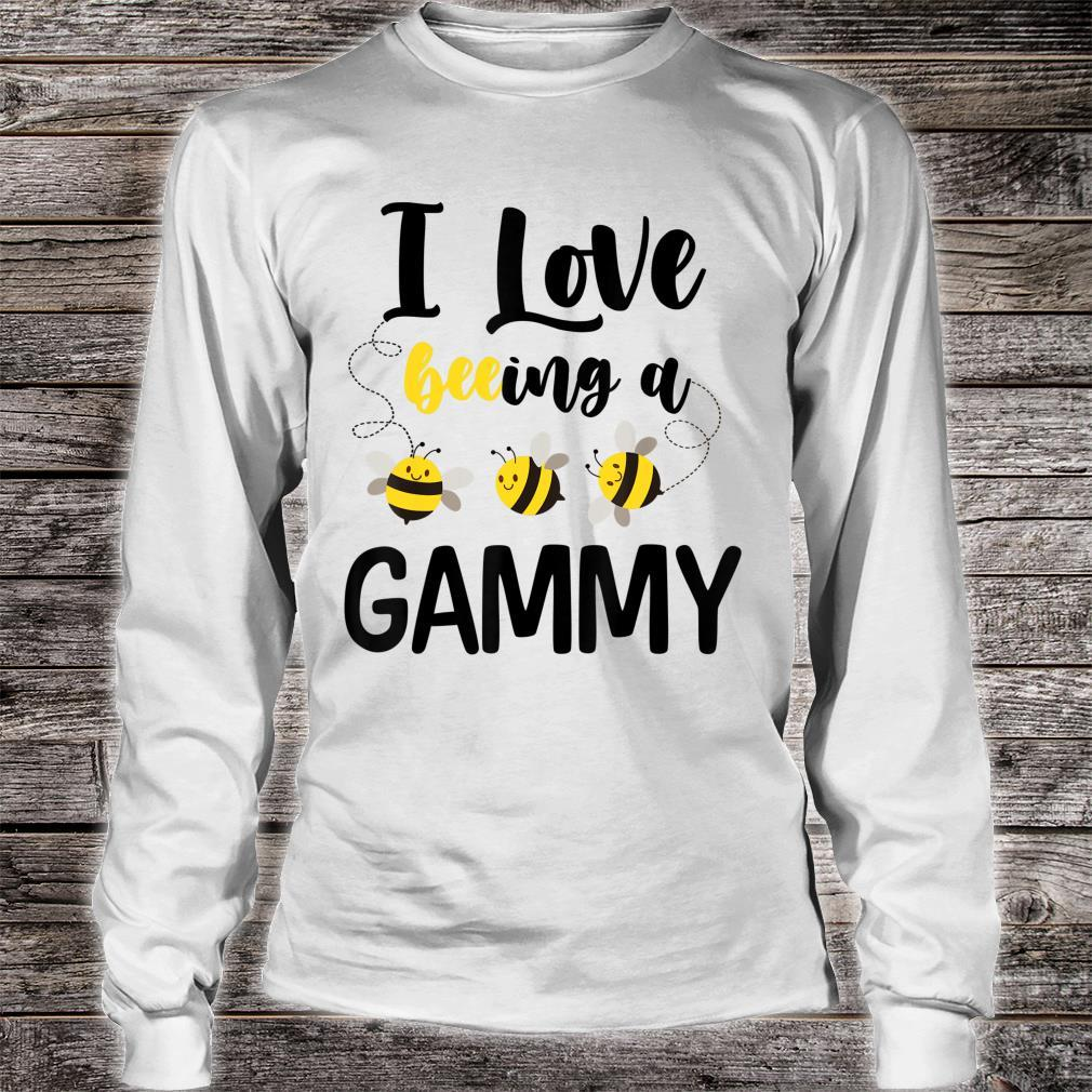 I Love Beeing A Gammy Bee Shirt long sleeved