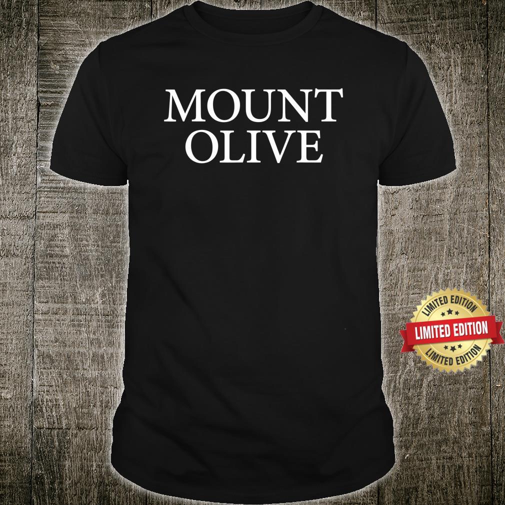 Mount Olive Logo Retro Sport City Shirt