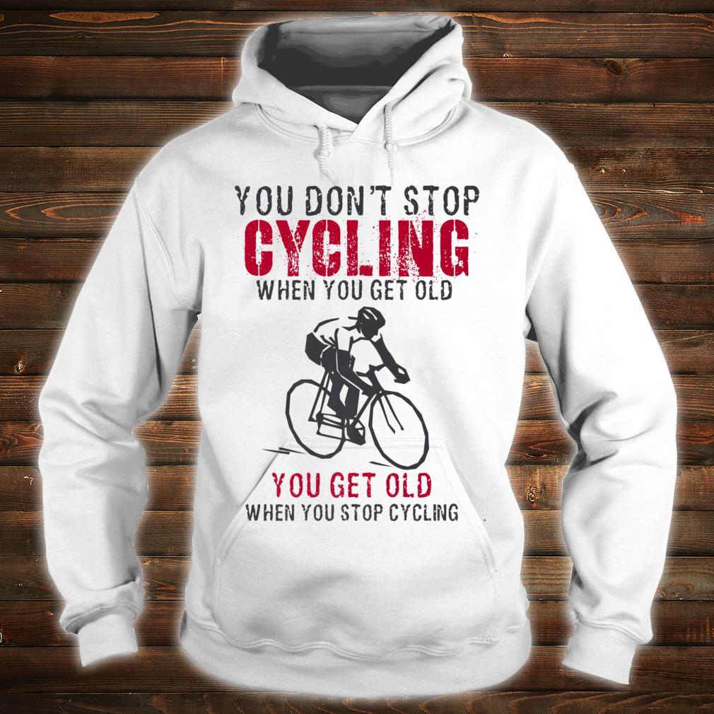Cycling is my Therapy Funny Bike Riding Cyclist Shirt hoodie
