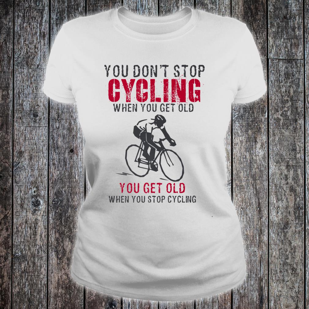 Cycling is my Therapy Funny Bike Riding Cyclist Shirt ladies tee