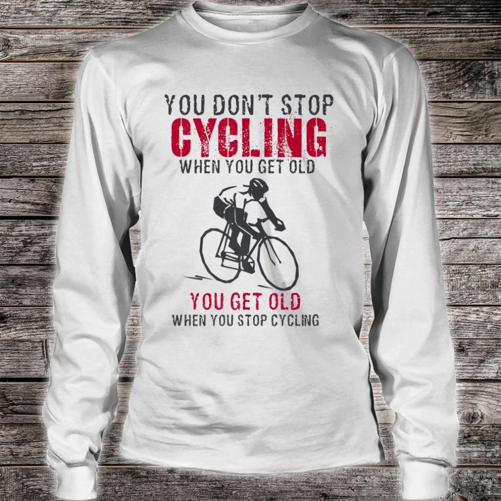 Cycling is my Therapy Funny Bike Riding Cyclist Shirt long sleeved