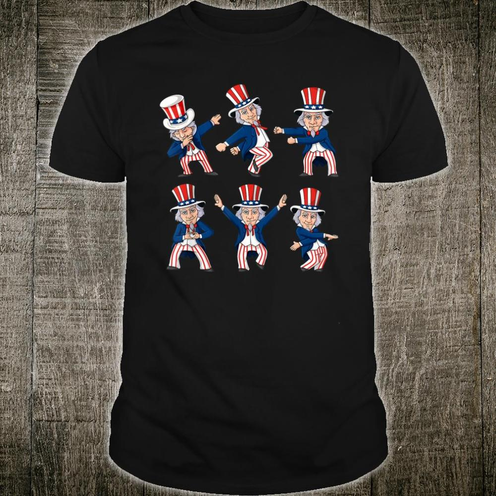 Dancing Uncle Sam 4th Of July Dance Challenge Shirt