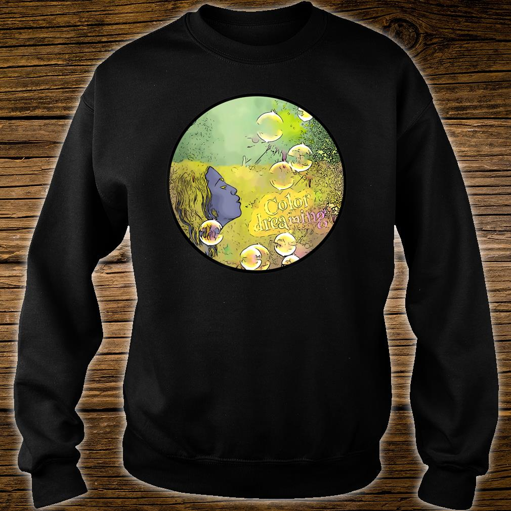 Glossy color dreaming Shirt sweater