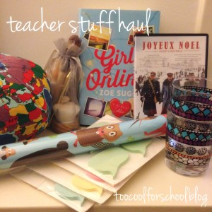 teacher haul