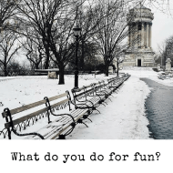 Day 48 of #Grief365: What Do You Do For Fun?