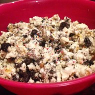 DIY Birthday-Cake Oreo Popcorn Recipe