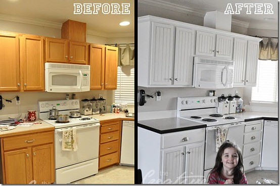 how to redo kitchen cabinets on a budget outdoor plans free home improvement: cabinet makeover | tooele ...