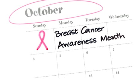 October is Breast Cancer Awareness Month! The best