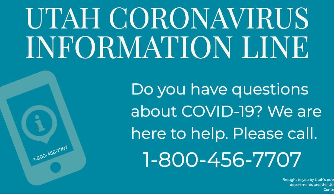 Utah Coronavirus Information Line | Tooele County Health Department