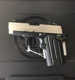 sig sauer p238 380 acp pistol with two tone finish x green sights stainless slide black alloy frame 6rd sig sauer 238 380 sp 1 [ 1512 x 1512 Pixel ]