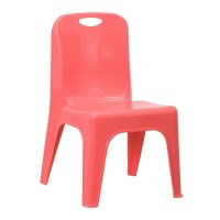 MFO Red Plastic Stackable School Chair with Carrying ...