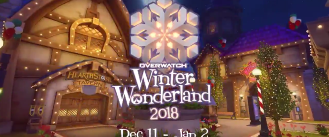 Overwatch Winter Wonderland - Too Far Gone - TFG.moe