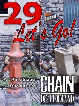 29, Let's Go! Pint-Sized Campaign
