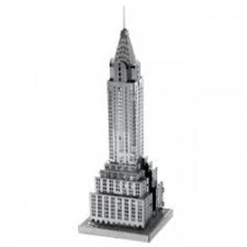 Model Kit Chrysler Building Fascinations Metal Earth Metal Earth Arquitectura Didacticos