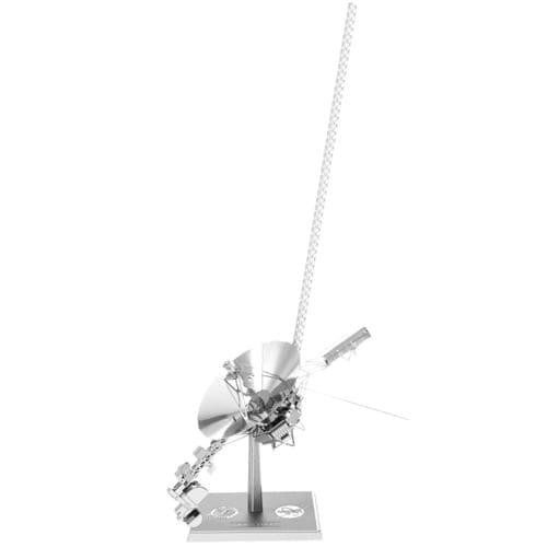 Model Kit Voyager Spacecraft Fascinations Metal Earth Espacio Didacticos