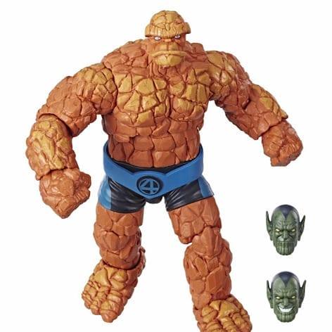 """Figura Articulada La Mole Hasbro Marvel Legends Los 4 Fantásticos Marvel 6"""""""
