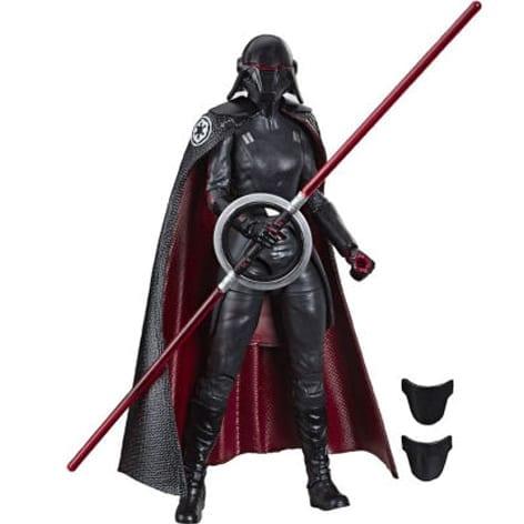 """Figura Articulada Second Sister Inquisitor Hasbro Black Series Jedi Fallen Order Star Wars 6"""""""
