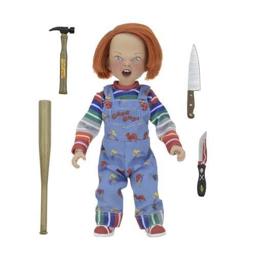 Figura Chucky NECA Reel Toys Child´s Play Terror en Caja de Good Guy