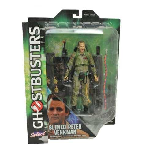 Figura Peter Venkman Diamond Select Toys Ghostbusters Ciencia Ficción