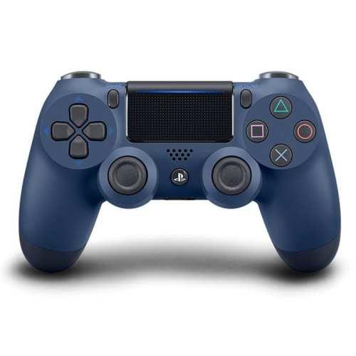 Control Inalámbrico Sony DPR Videojuegos Playstation Dualshock 4 Azul Medianoche