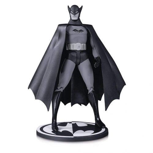 "Figura Articulada Batman DC Collectibles Batman DC Comics Black and White Bob Kane (Primera Aparición) 7"""