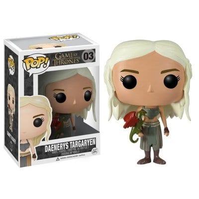 Figura Daenerys Targaryen Funko POP Juego de Tronos Series with Drogon