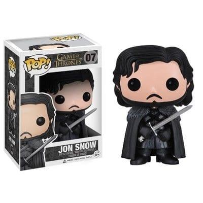 Figura Jon Snow Funko POP Juego de Tronos Series Night Watch