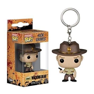 Llavero Rick Grimes Funko POP The Walking Dead Terror