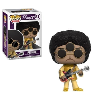 Figura Prince Funko POP Músicos 3rd Eye Girl