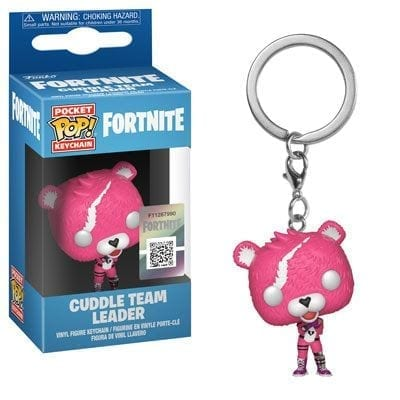 Llavero Cuddle Leader Funko POP Fortnite Videojuegos