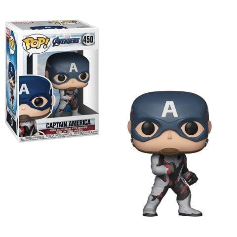 Figura Capitán América Funko POP Avengers Endgame Marvel