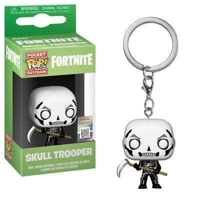 Llavero Skull Trooper Funko POP Fortnite Videojuegos