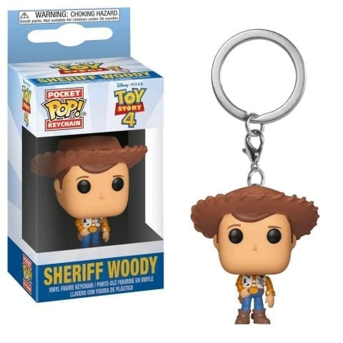 Llavero Woody Funko POP Toy Story 4 Disney