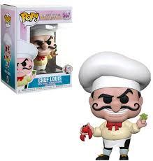 Figura Chet Louis Funko POP La Sirenita Disney