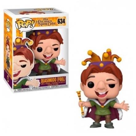 Figura Quasimodo Funko POP El Jorobado de Notredame Disney (Quasimodo Rey Tonto)
