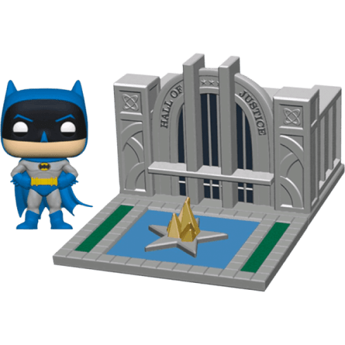 Figura Batman Funko POP Batman DC Comics con Salón de la Justicia