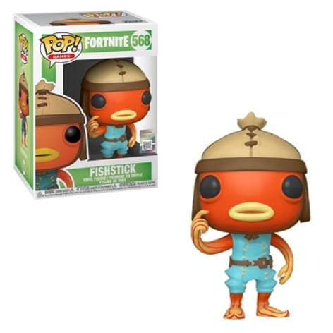Figura Fishstick Funko POP Fortnite Videojuegos